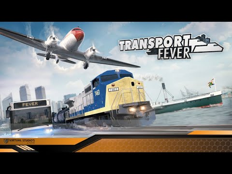 Auf den Zug aufspringen - Transport Fever #001 [Let´s Play | German]