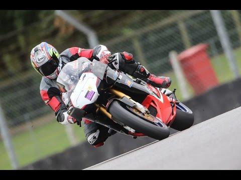 Brands Hatch Motorcycle Trackday 25/9/2014 Intermediate Green group, Aprilia RSVR Session 2