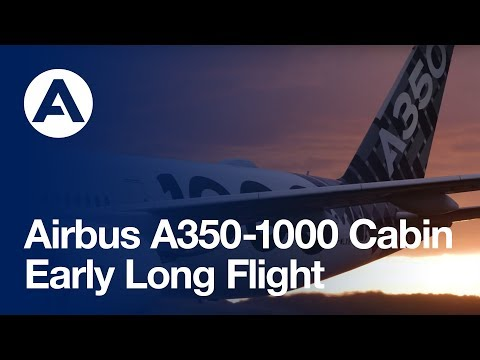 Testing the A350-1000's cabin comfort on its Early Long Flight