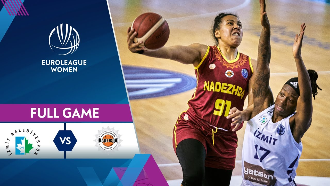 Izmit Belediyespor v Nadezhda | Full Game - EuroLeague Women 2020