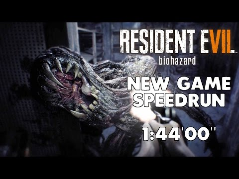 Resident Evil 7 - New Game Speedrun - 01:44:00