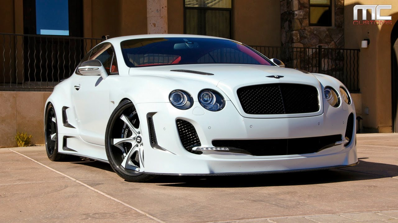 mc customs widebody bentley supersport youtube. Black Bedroom Furniture Sets. Home Design Ideas