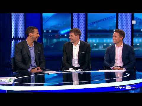 Who are the favourites for the Champions League? Rio, Gerrard, and Owen discuss