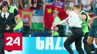 22 тысячи долларов: названо имя финансиста акции Pussy Riot на футболе в