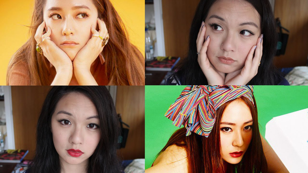krystal fx ������ 4 walls mv makeup inspired looks 2 in