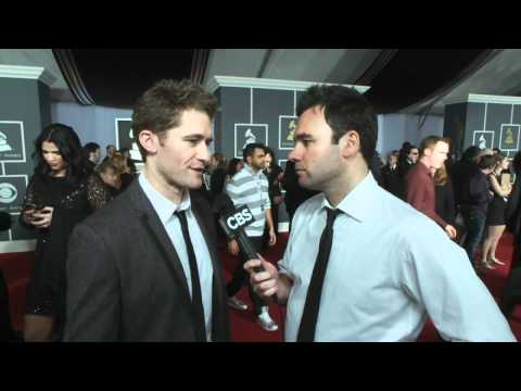 53rd Grammy Awards - Matthew Morrison Interview