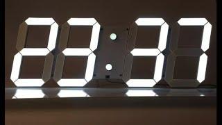 Unboxing y montaje del Reloj digital LED de pared.