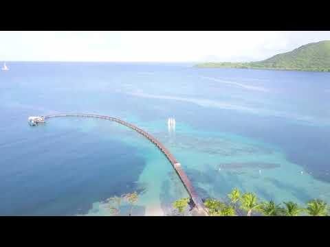 Club Med Les Boucaniers - Martinique - Le lieu de mes vacances vu au drone (Août 2017)