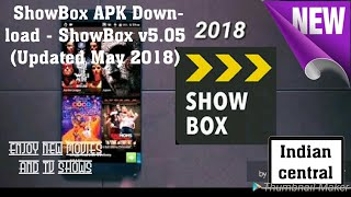 ShowBox APK Download - ShowBox V505latest!! (Updated May 2018)