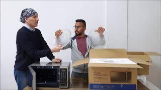 SAMSUNG Mikrodalga Fırın İnceleme MW5100 ve MW301 karşılaştırma