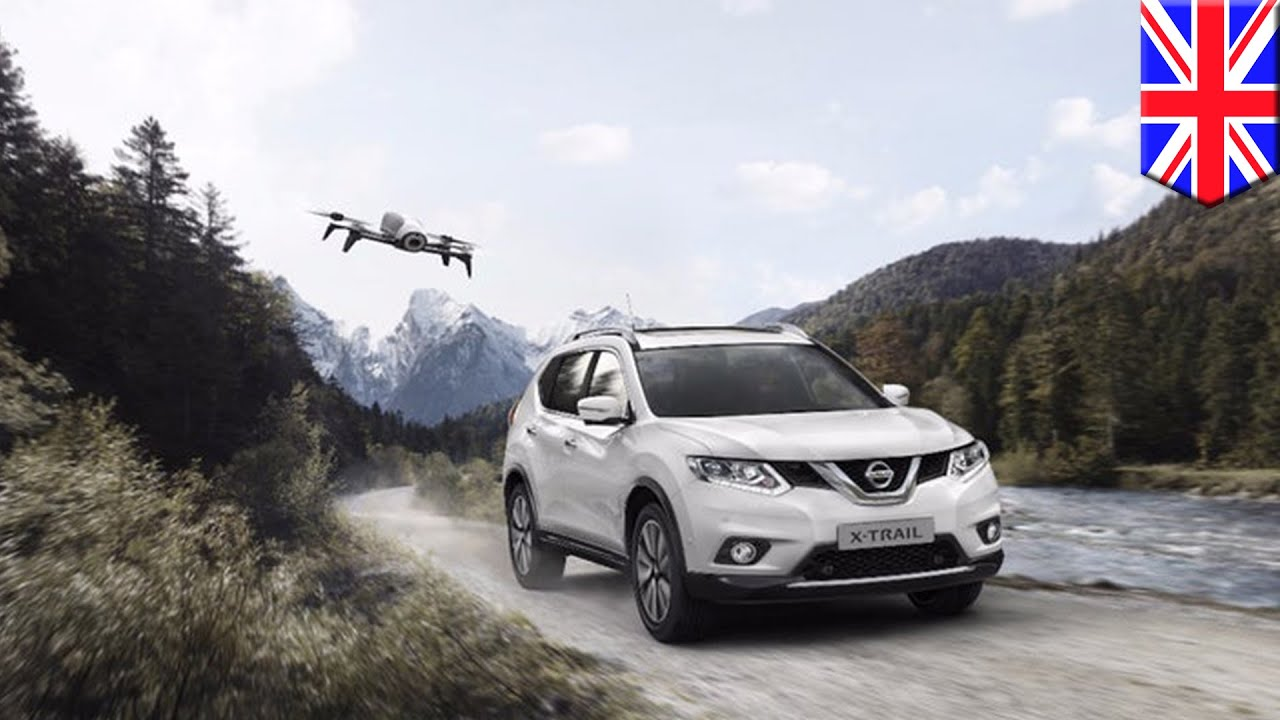 Suv With Drone Nissan Adds Follow Me Drone To Its X Trail Suv In