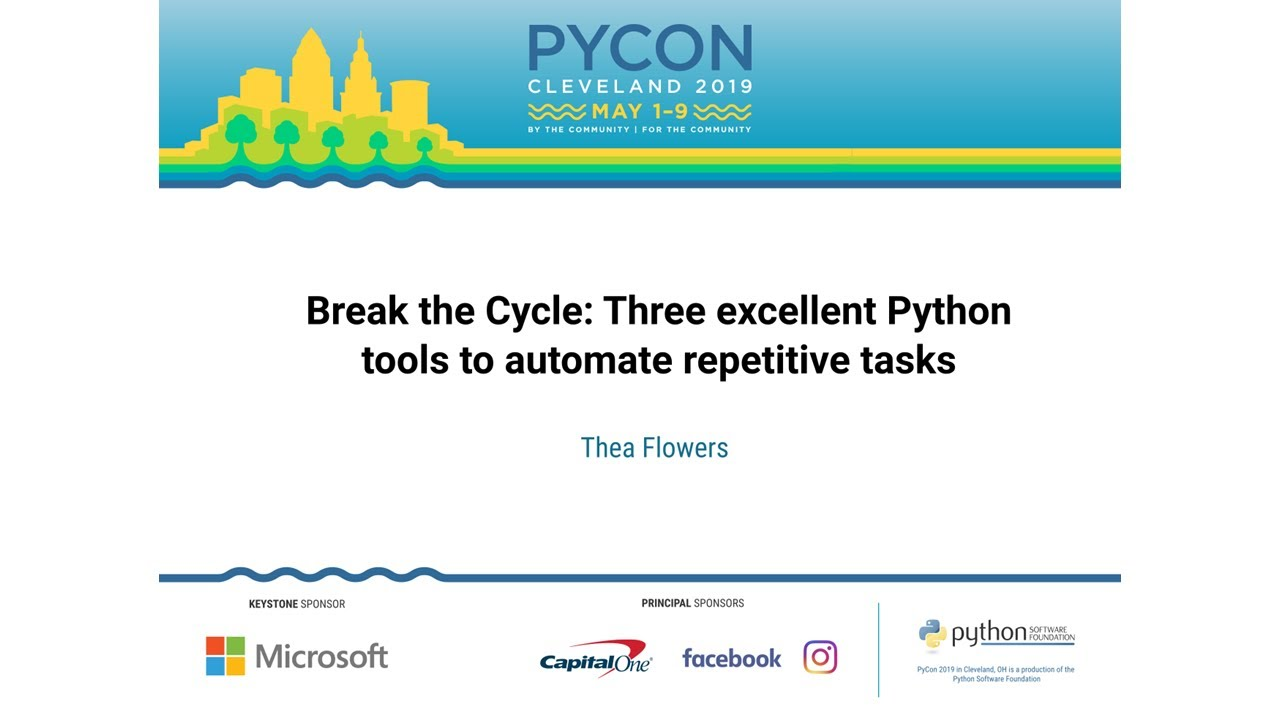 Image from Break the Cycle: Three excellent Python tools to automate repetitive tasks