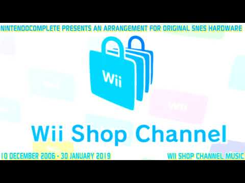 ♫Wii Shop Channel Theme, SNES Arrangement - NintendoComplete