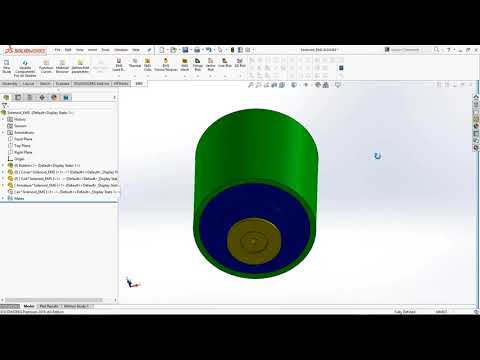 Designing Solenoids and Actuators using EMS for Solidworks