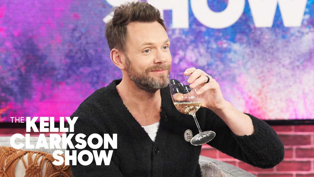 Download Joel McHale Cuddles Adorable Kittens While Drinking Wine With Kelly Clarkson
