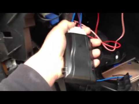 Passtime Wiring Diagram Australian Telephone Wall Socket Gps Install - Youtube