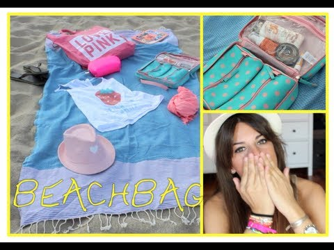 ¿Qué llevo en la bolsa de la playa Beachbag
