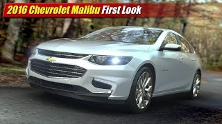 2016 Chevrolet Malibu First Look