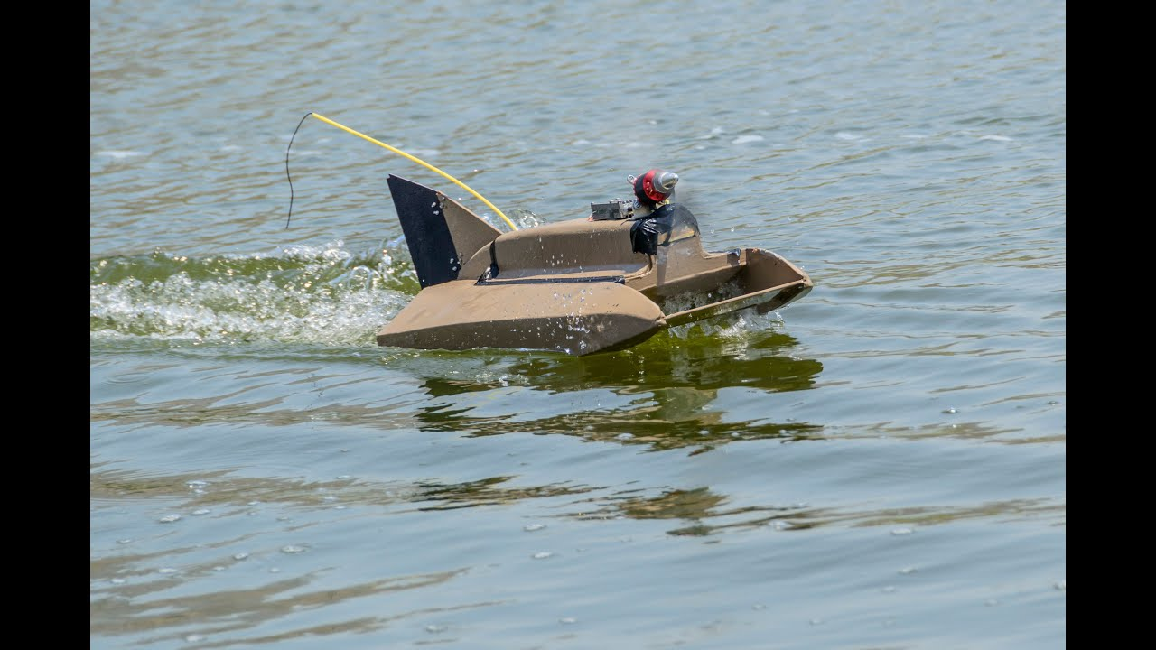 Airscrew Driven RC Boat: 12 Steps (with Pictures)