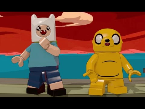 LEGO Dimensions - Adventure Time Level Pack - All Minikits