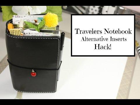 Traveler's Notebook Alternative Notebooks / Hack