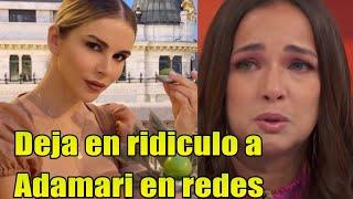 Esposa de Luis Fonsi DEJA EN RIDICULO a Adamari Lopez en redes con su abdomen de acero!