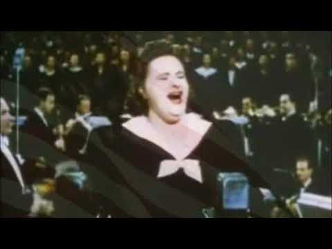Kate Smith Sings God Bless America, Movie Short From 1943