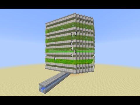 Minecraft 1.9 Tutorial: Unarybit's Food Farm with a Fix for the 1.9 Mechanics