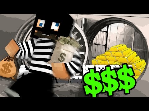 Minecraft: BANK HEIST   STEAL HER DIARY!!