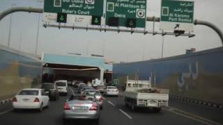 dubai a drive along sheikh zayed road in hd