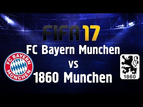 FIFA 17 FC Bayern Munchen vs 1860 Munchen (Munich derby)