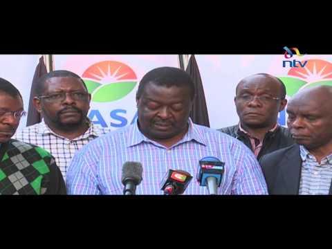 Nasa postpones plans to swear in Raila Odinga