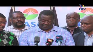 Nasa postpones plans to swear in Raila Odinga