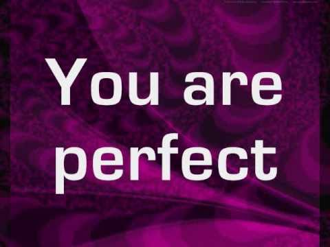 Pink - Perfect (clean version) - lyrics on screen