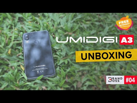UMIDIGI A3 Unboxing & Quick Look | Best Budget Smart phone for $50