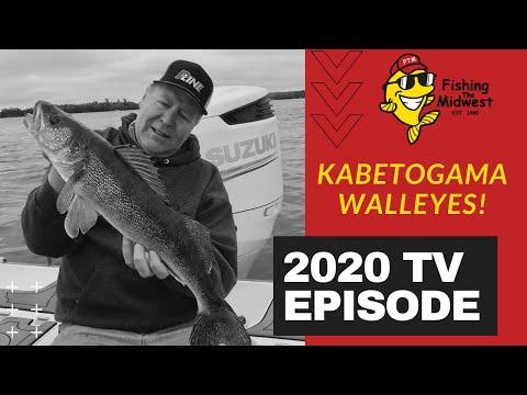 Lake Kabetogama: Fishing For Walleyes Galore!
