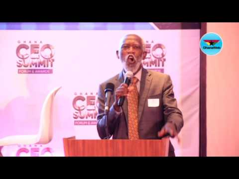 FULL SPEECH: Professor Adei at Ghana CEO Summit 2017