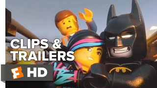 The LEGO Movie ALL Clips   Trailers | Fandango Family