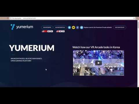 YUMERIUM - an incentivized blockchain based open gaming platform