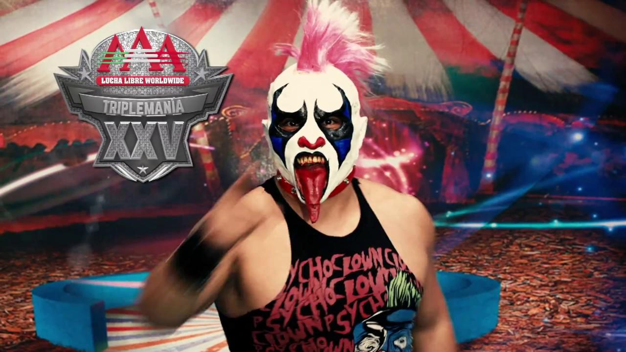 Psycho Vs Wagner Por El 5 Triplemania Xxv Lucha Libre Aaa