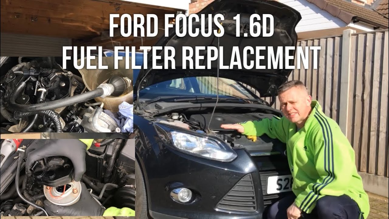 Fuel Filter Replacement Ford Focus 1 6 Diesel 2011- tdci