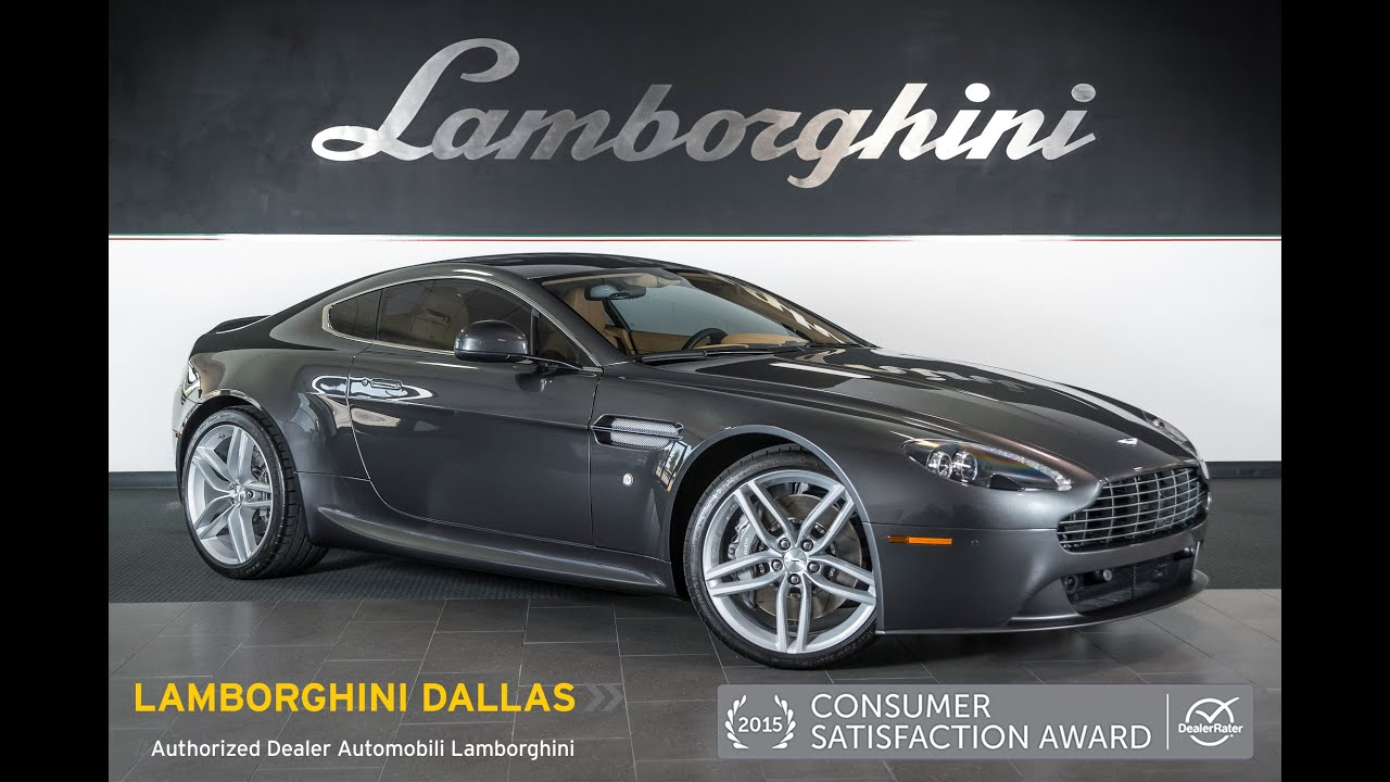 2013 Aston Martin Vantage V8 Meteorite Silver Lt0790 Youtube