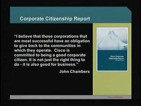 Ethics and Leadership with John Morgridge Cisco Systems