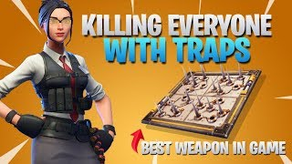 Killing Everyone With Traps (Fortnite Battle Royale)