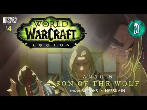 World of Warcraft Legion Animated Comic | Anduin Son of the Wolf #4