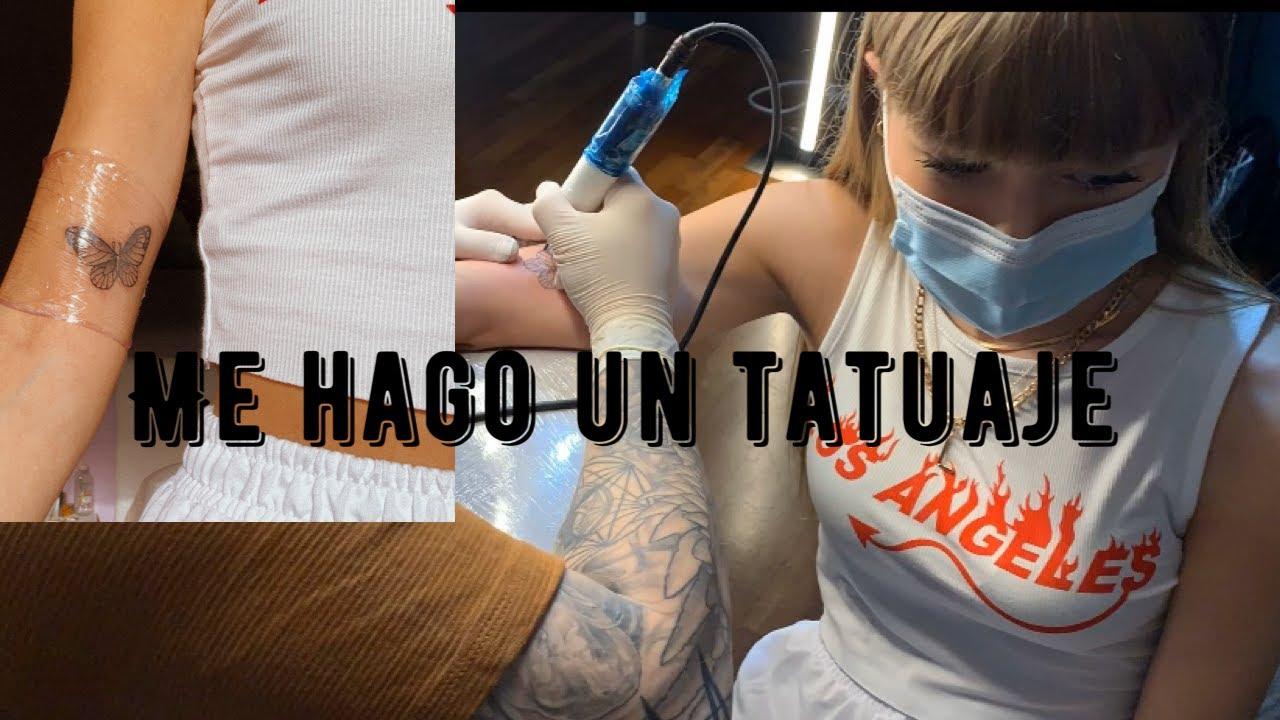 1 Día conmigo tatuándome! /@lucia_ballesteros