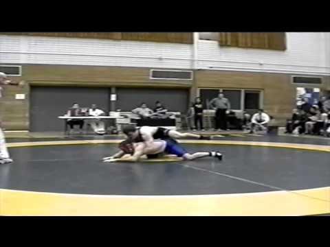 2001 Dual Meet: 76 kg Danny Jutras (UofS) vs. Tim Bayly (UofA)
