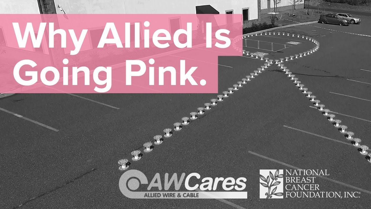 Allied Wire & Cable Goes Pink - YouTube