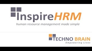 "Techno brain's inspirehrm, a microsoft certified isv product, is fully-featured human resource management solution that automates the complete ""hire"" to ""r..."