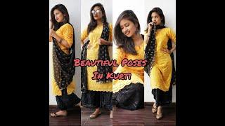 Simple \u0026 Beautiful Poses In Kurti For Girls Being Navi Vaishnavi Naik Shorts